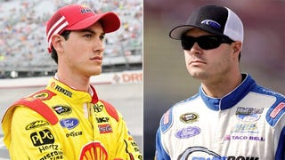 Illustration for article titled Did Penske Strike a Deal to Get Logano into the Chase?