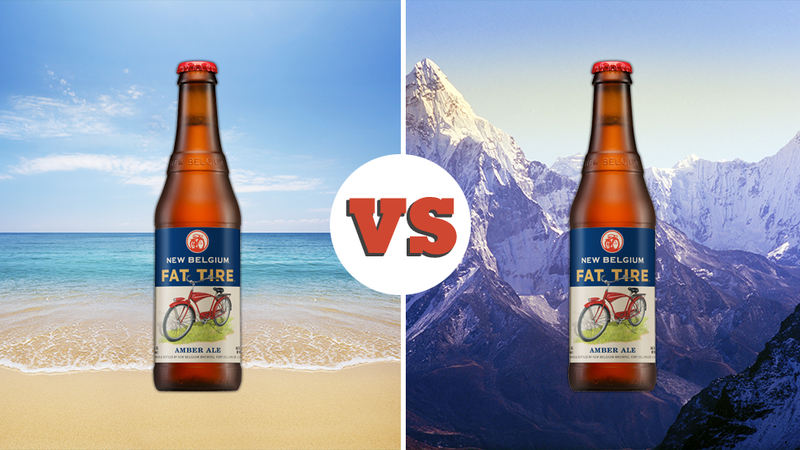 Illustration for article titled Debate: Drinking on a Mountain vs. Drinking at the Beach