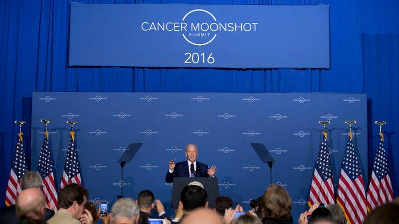Vice President Joseph Biden speaks at the Cancer Moonshot Summit at Howard University in Washington on June 29, 2016. (Image: AP)
