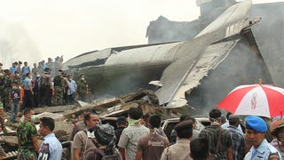 Indonesian Air Force C-130 Crashed Into A Dense Neighborhood In Medan