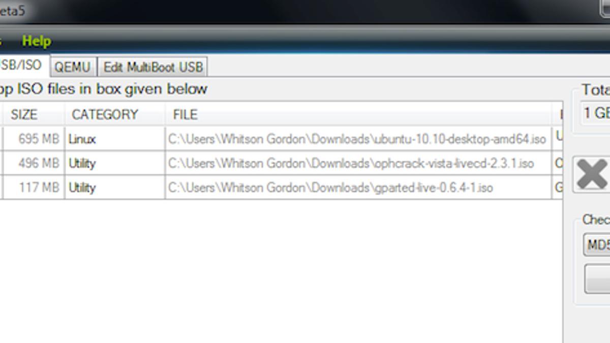 XBoot Creates Your Own Custom, Multi-Image Bootable USB Drive