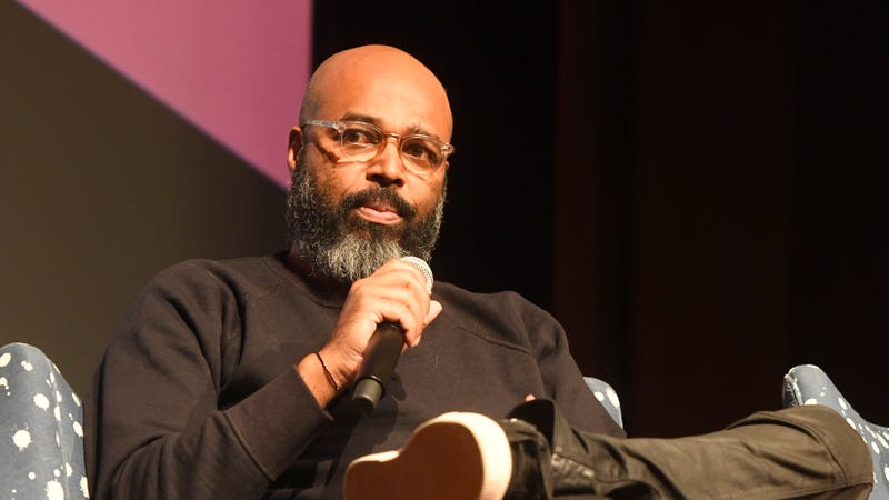 Director and showrunner Salim Akil speaks during a screening and Q&A for 'Black Lightning' on Day 3 of the SCAD aTVfest 2018 on February 3, 2018 in Atlanta, Georgia.