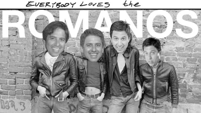 Illustration for article titled Everybody Loves The Romanos mashes together The Ramones, Ray Romano