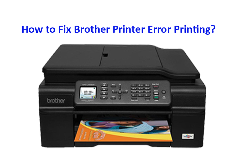 Illustration for article titled Call 1-888-818-1263 to Fix Brother Printer Error Printing
