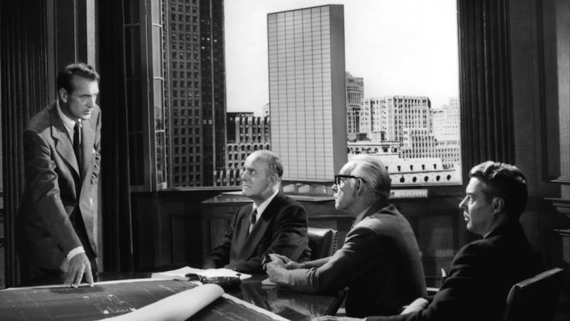 Image: Still from the 1949 Fountainhead film