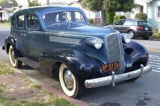 Illustration for article titled 1937 Cadillac V8
