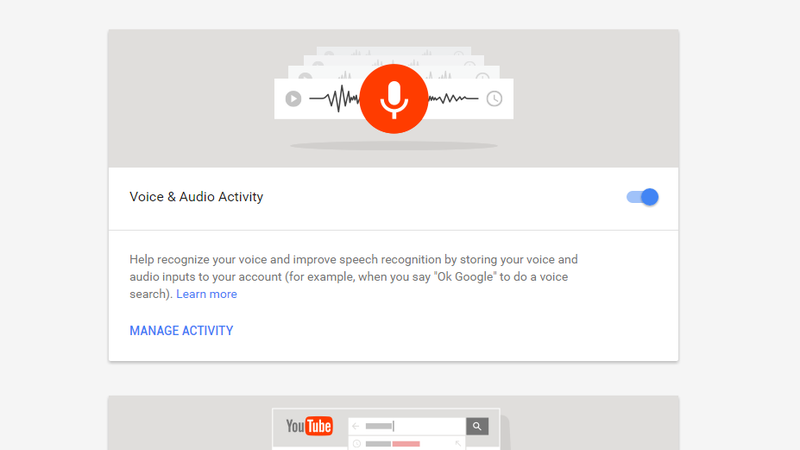 this page lets you disable a lot of google s activity tracking