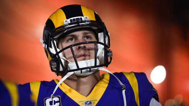 Illustration for article titled Jared Goff Pissed He Had To Miss Friend's Super Bowl Party For Work