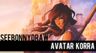 Illustration for article titled Avatar Korra in Speed Painting Form!