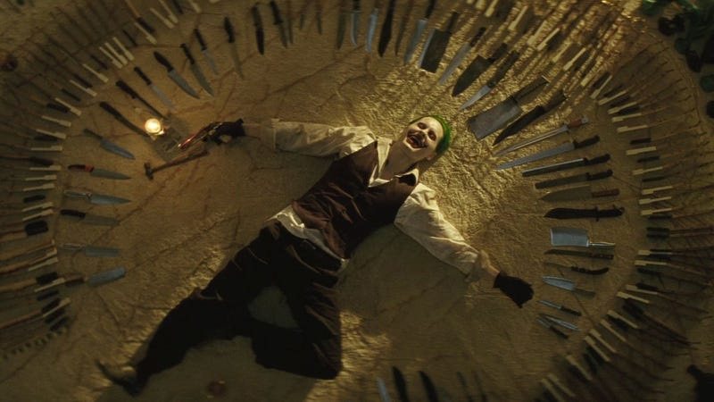 Did The Joker set up these knives himself? Or did he ask a friend to do it for him?