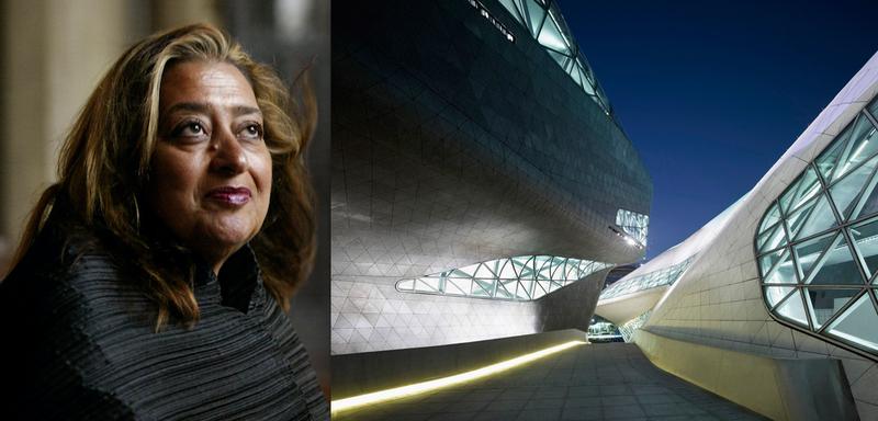 AP Photo/Kevork Djansezian, File; Iwan Baan for Zaha Hadid Architects