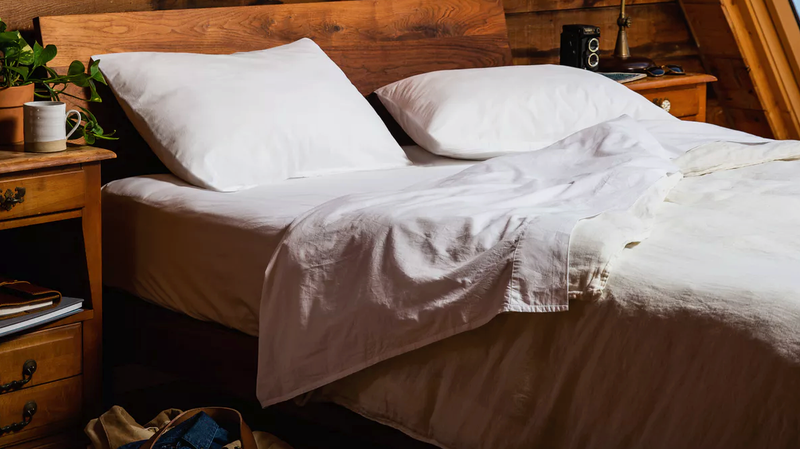 20% Off Upstate Pure Washed Cotton Sheets | Huckberry