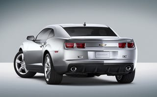 Illustration for article titled 2010 Chevrolet Camaro Official Pics And Press Release