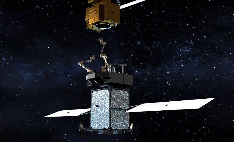 Artist's concept of Restore-L. Image: NASA