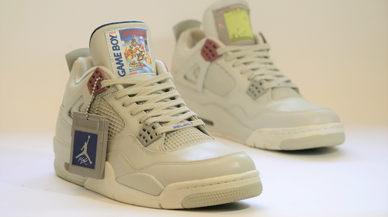 These $1,350 Game Boy-Themed Jordans Almost Look Worth It
