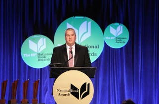 Daniel Handler attends the 2014 National Book Awards in New York City Nov. 19, 2014.Robin Marchant/Getty Images