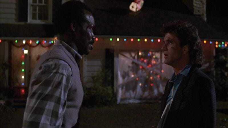 for the past three years the av club has devoted the month of december to reflecting on our favorite holiday entertainments and this year is no - Lethal Weapon Christmas
