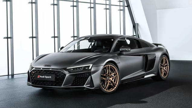 The Special Edition Audi R8 V10 Decennium Costs 214 995 But Offers
