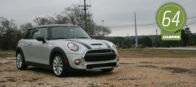 Illustration for article titled 2014 Mini Cooper S Hardtop: The Jalopnik Review