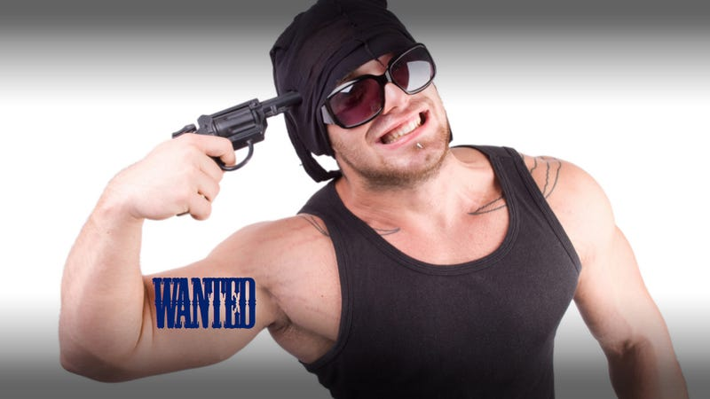 Illustration for article titled Park Rangers Arrest A Fugitive With 'Wanted' Tattooed On His Arm