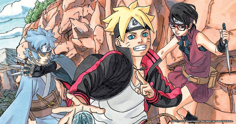 Illustration for article titled Boruto: Naruto Next Generation - Chapter 4 Impressions