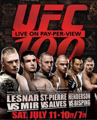 Illustration for article titled UFC 100 Will Be The Biggest Event Ever!!!