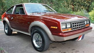 Illustration for article titled For $4,900, This 1982 AMC Eagle SX/4 Looks Ready To Fly