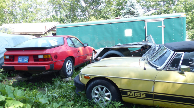 A Michigan Town Is Forcing This Man To Sell 20 Old Cars Off His
