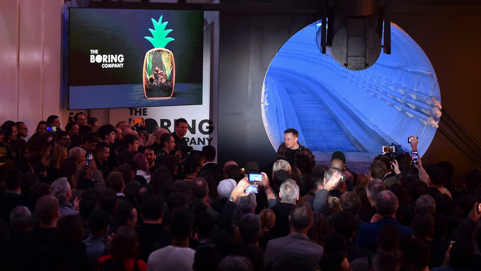 """Elon Musk Says """"Hyperloop"""" Tunnel Is Now Just a Normal Car Tunnel Because """"This Is Simple and Just Works"""""""