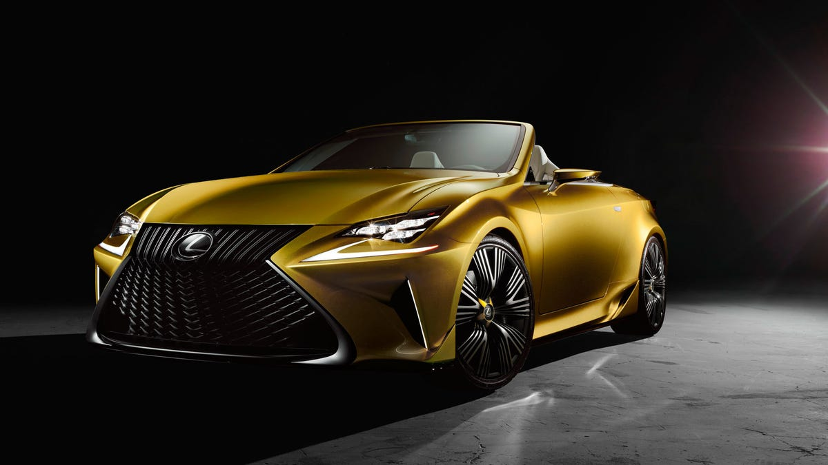Lexus Lc Convertible And Lc F Are Coming Report