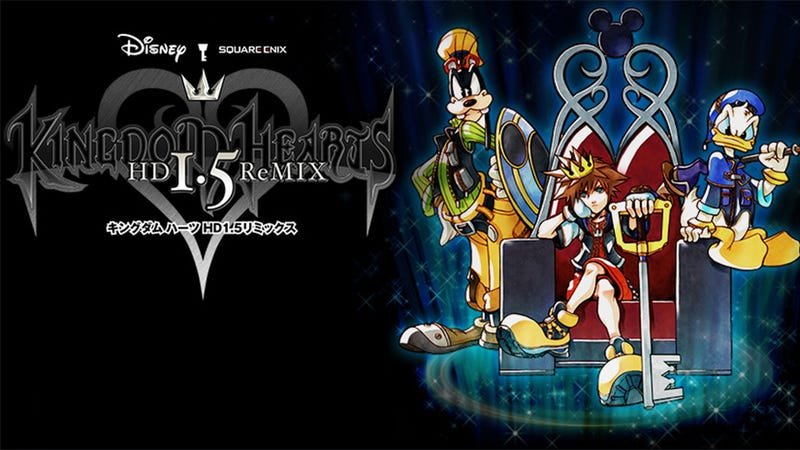 Illustration for article titled Kingdom Hearts 1.5 HD ReMIX Looks Great and Plays Just Like the Originals (For Better or Worse)