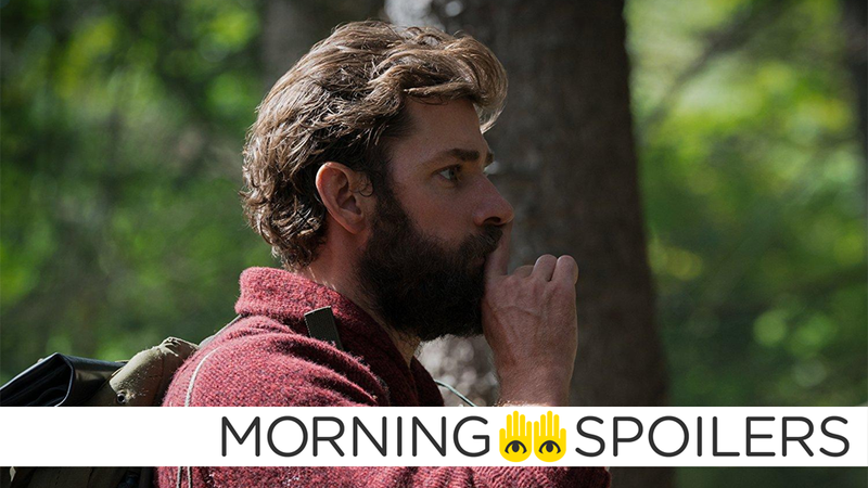 John Krasinski, presumably whenever someone asks him if he's gonna direct A Quiet Place 2: Quiet Harder.