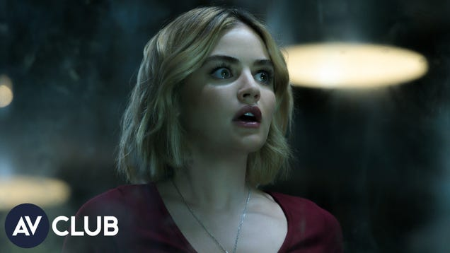 Fantasy Island's Lucy Hale wonders how Katy Keene might fare in a horror movie