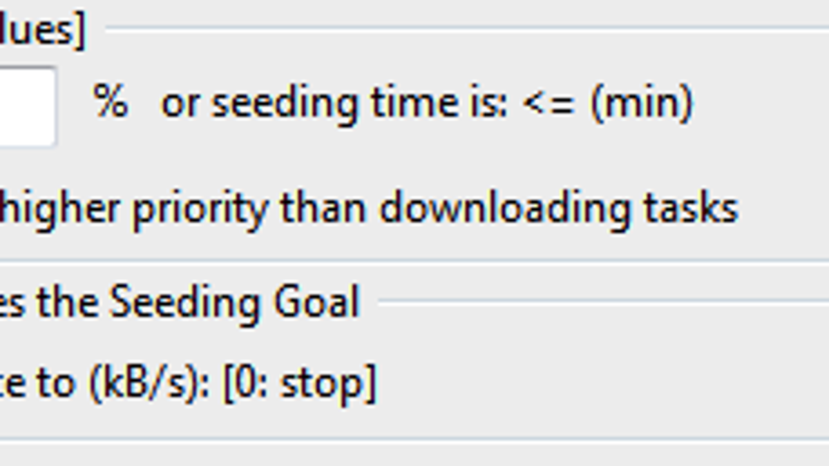 best torrent bandwidth settings