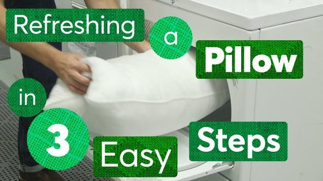 Clean and Freshen Your Pillows In Three Simple Steps
