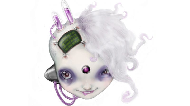 The io9 mascot, as designed by Eliza Gauger
