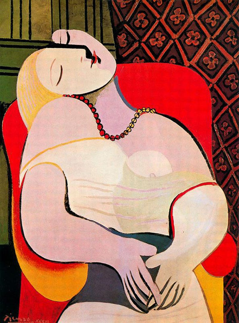 Illustration for article titled Rekordösszegért adták el a Picasso-képet, amibe az előző tulajdonosa belekönyökölt