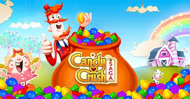 Illustration for article titled Activision compra el estudio creador de Candy Crush por 5.900 millones de dólares