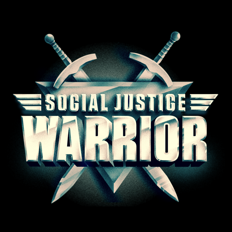 "Illustration for article titled ""Social Justice Warrior"" T-Shirt Design  By Olly Moss"