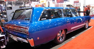 Illustration for article titled SEMA 2007: Plymouth GTX Wagon for 1968
