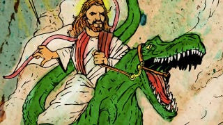 """Illustration for article titled In Oklahoma, faith-based explanations can get you an """"A"""" in science class"""