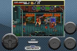 Illustration for article titled Streets Of Rage, Now On iPhone