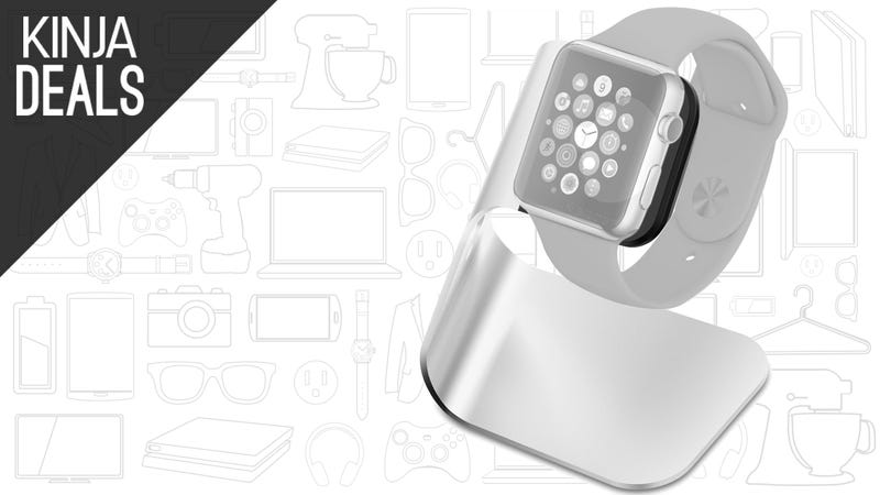 Illustration for article titled Charge Your Apple Watch in Style For $8