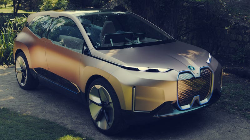 Illustration for article titled The BMW Vision iNext Concept Is a Whole Lot to Look At