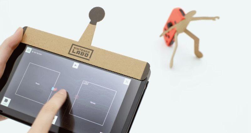 Illustration for article titled Las hilarantes reacciones de Internet a Nintendo Labo, los nuevos accesorios de cartón de la compañía
