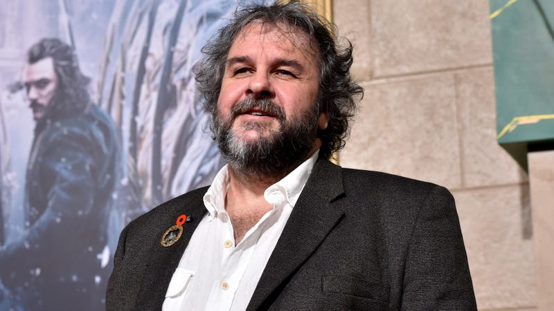 Peter Jackson, with his naughty days long behind him