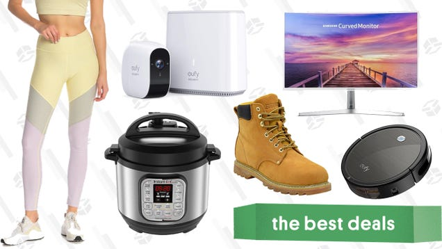 Monday s Best Deals: Outdoor Voices, Instant Pot Mini, Curved Monitor, and More