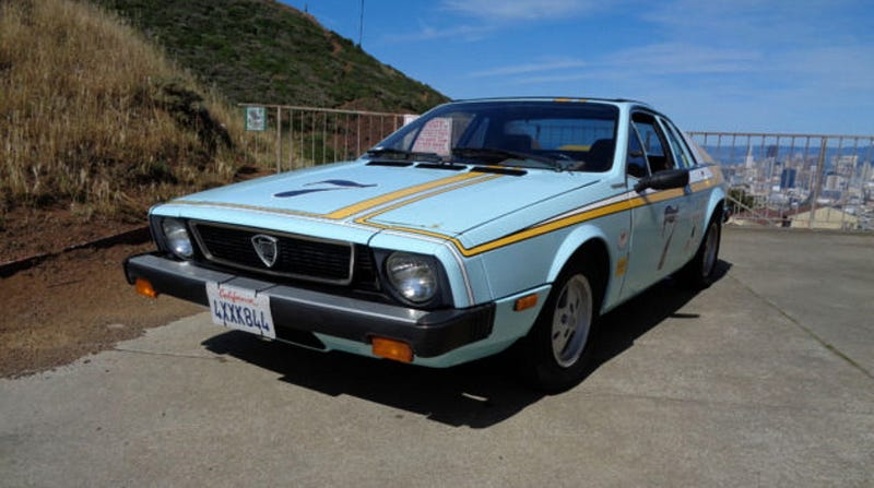 Illustration for article titled For $2,125, Could You Picture Buying This 1976 Lancia ScorpionMovieHomage Car?