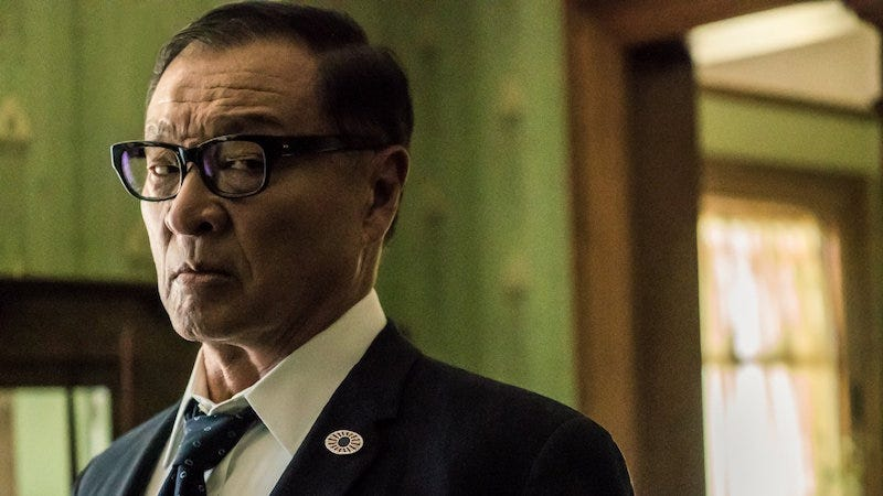 Image: Cary-Hiroyuki Tagawa as Tagomi in Man in the High Castle, Amazon