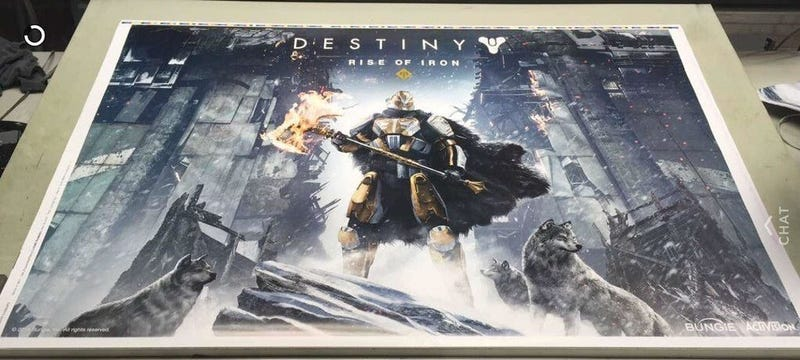 Illustration for article titled Leaked Poster Reveals Destiny's Next Expansion, Rise of Iron